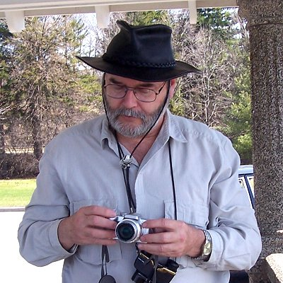 Larry Neily - Ottawa, ON - Apr. 19, 2007 - photo by Antoinette (Richmond) Neily